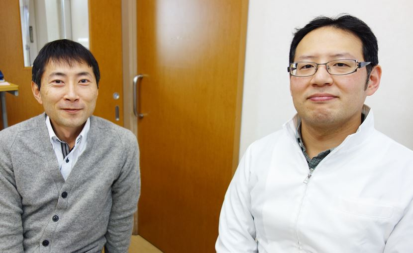清水先生と岡田