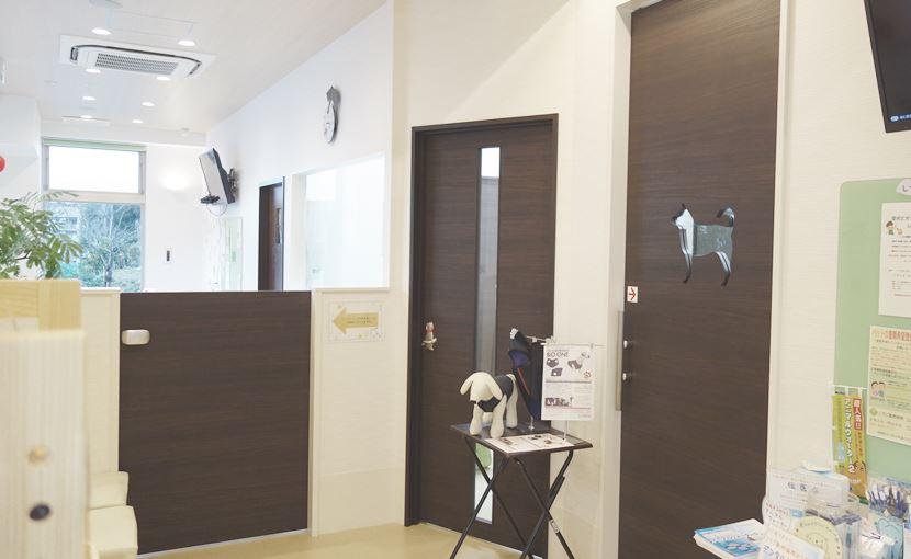 犬用の待合室