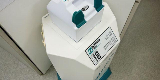 渡邊動物病院 レーザー用脱臭機