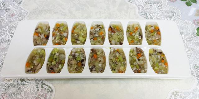 半手作り食を冷凍小分け